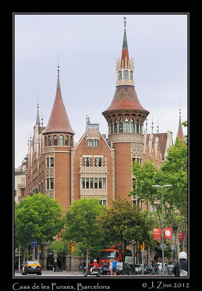 Casa de les punxes barcelona janet zinn - Casa de las punxes ...